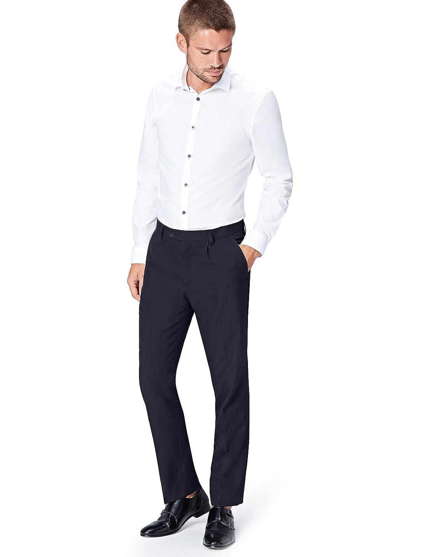 TALLA 32W / 33L. FIND Pantalones de Vestir para Hombre