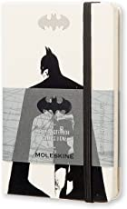 Moleskine Batman Limited Edition - Cuaderno de notas, con bolsillo, rayas, blanco, tapa dura (3,5 x 5,5)
