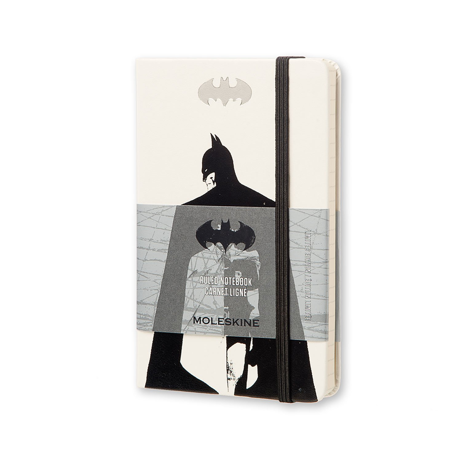 Moleskine Batman Limited Edition Notebook, Pocket, Ruled,...