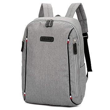 Slim Business Laptop Backpack Elegant Casual Daypacks Outdoor Sports Rucksack School Shoulder Bag for Men Women