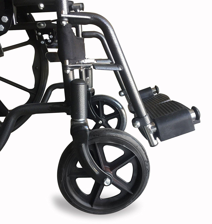 Sedia a rotelle S220 acciaio e autopropulsable 43 Amazon Salute e cura della persona