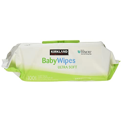 Kirkland Signature Baby Wipes Ultra Soft Unscented