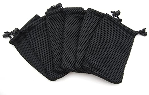 Amazon.com: ALL in ONE 6pcs Nylon Mesh Drawstring Bag Pouches for ...