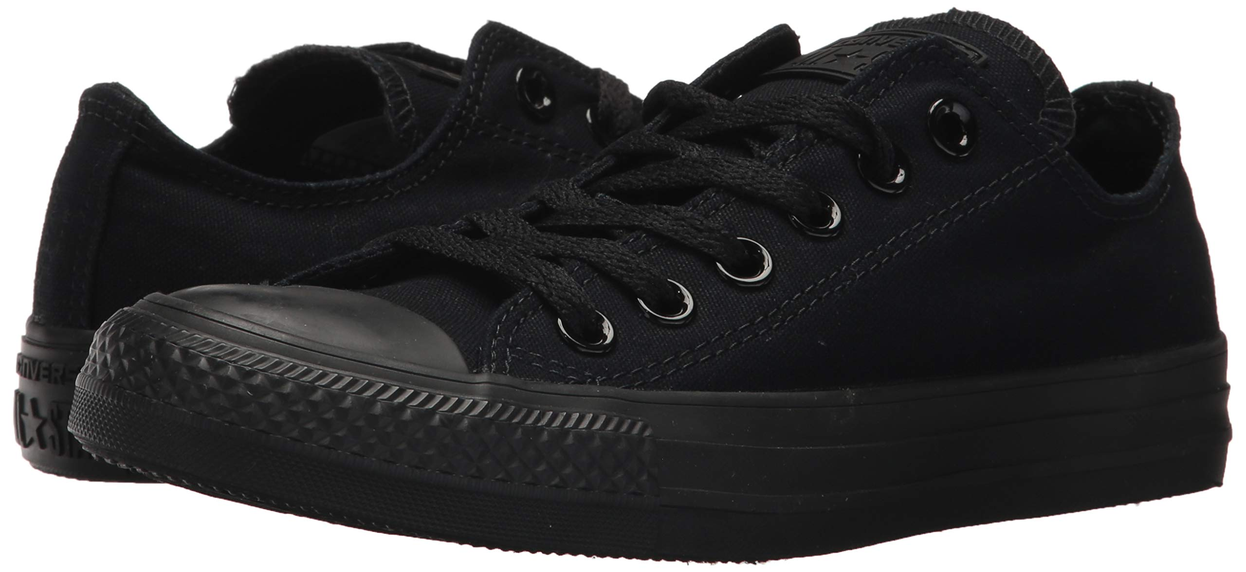 Converse Unisex Chuck Taylor All Star Low Top Black Monochrome Sneakers - 9 D(M) US by Converse (Image #7)