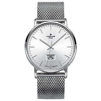 Junghans ANYTIME MILANO 030/4941.44 - Reloj de caballero, correa de acero inoxidable color plata: Amazon.es: Relojes