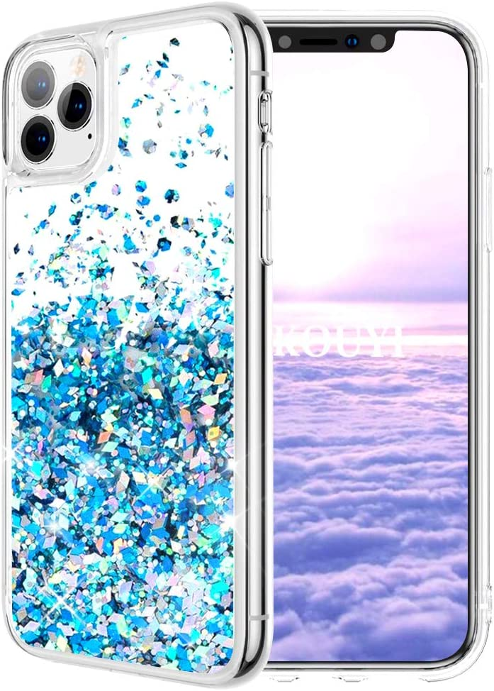 KOUYI Funda iPhone 11 Pro MAX (6,5 Pulgadas), Brillo Liquida Claro ...