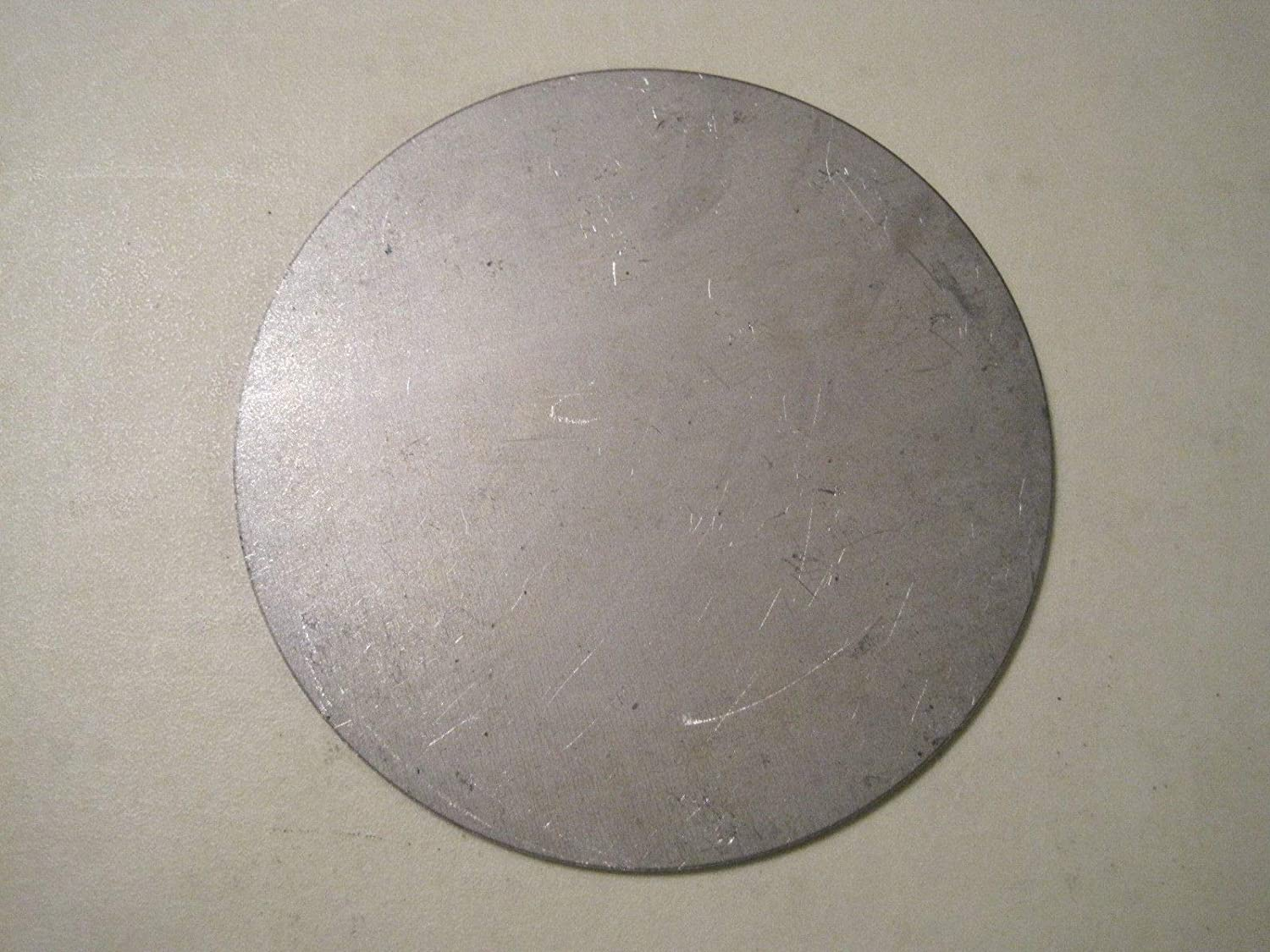 "20ga 1//32/"" Steel Plate Round Disc 25 pcs. Circle 1.75/'/' Diameter"
