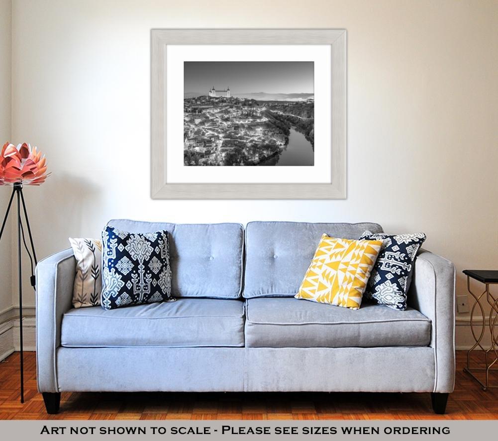 Amazon.com: Ashley Framed Prints Toledo Spain Town Skyline ...