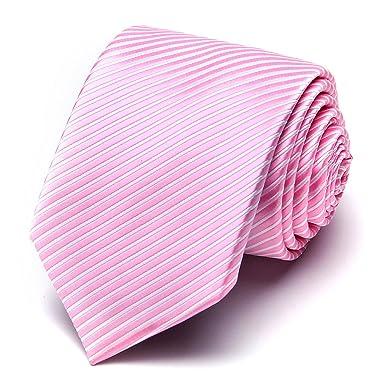 XIANGUO hombre corbata rayas moda patrón cuello para boda fiesta ...
