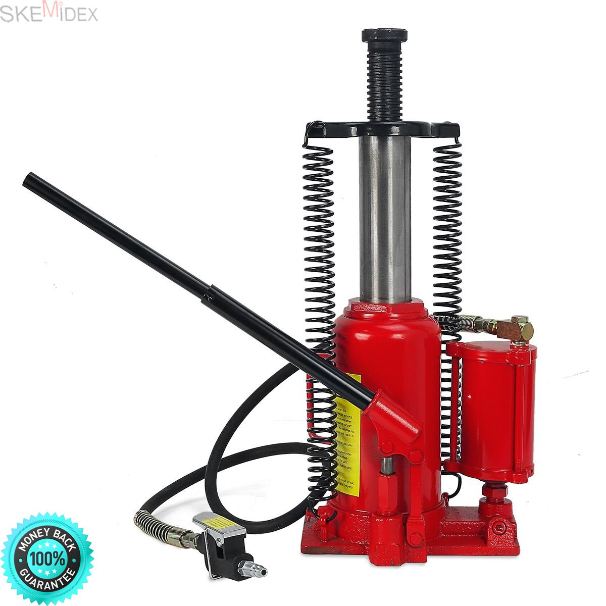 SKEMIDEX---Air Hydraulic Bottle Jack 20 Ton Manual 40,000lb HEAVY DUTY Auto Truck RV Repair And hydraulic pump how it works parker hydraulic pumps hydraulic pump for log splitter hydraulic gear pumps