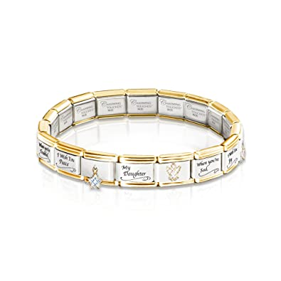 I Wish You Italian Bracelet By The Bradford Exchange: Amazon.co.uk