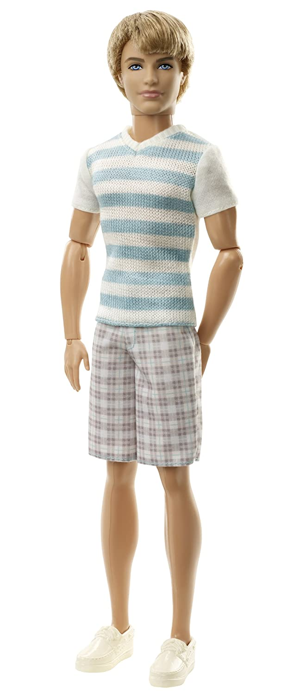 Barbie Ken Fashionistas Ken Striped Shirt Doll Mattel X2266 RS-6IAZ-2XRA
