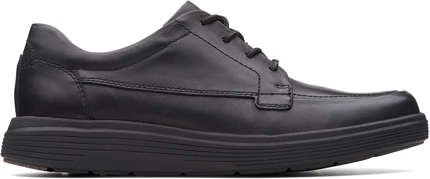 TALLA 41 EU. Clarks Un Morada Facilidad Mens Casual Cuero Zapatos De Encaje