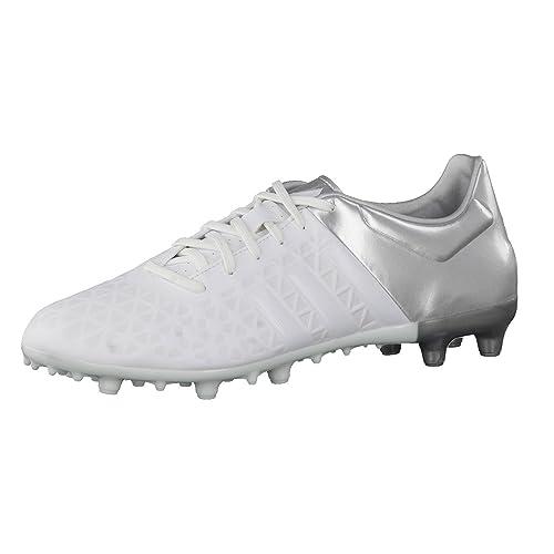 more photos c5d89 ed910 adidas Performance, Scarpe da Calcio Uomo Bianco Argento 40 EU