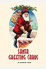Santa Greeting Cards: 20 Assorted Cards in Deluxe Tin Cards