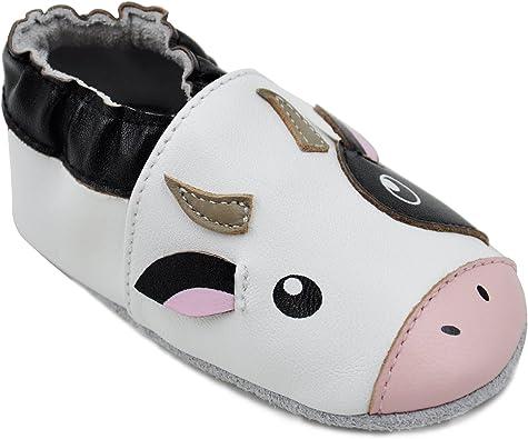 Kai Baby Unisex Lambskin Leather Soft Sole Shoes Kimi Elephant