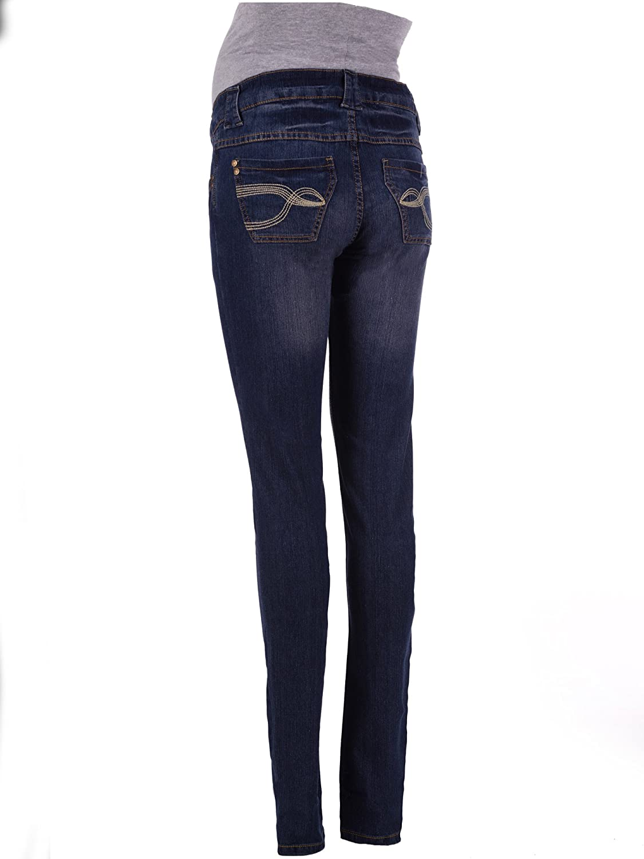 Long 34 Skinny Maternity Jeans UK Size 10