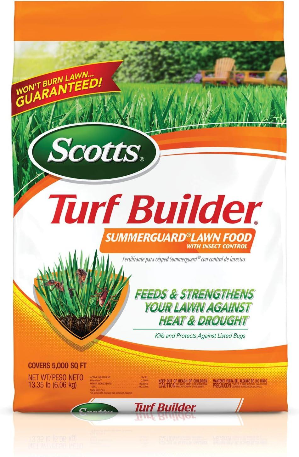 Scotts 49013 Turf Builder SummerGuard Lawn Food