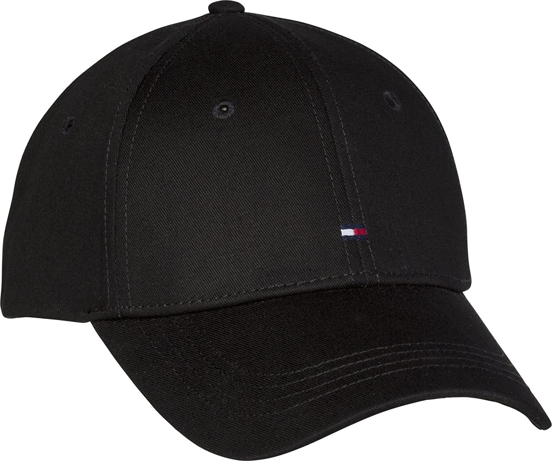 Tommy Hilfiger Classic Mens Cap Black at Amazon Men s Clothing store  b7bdab856f4