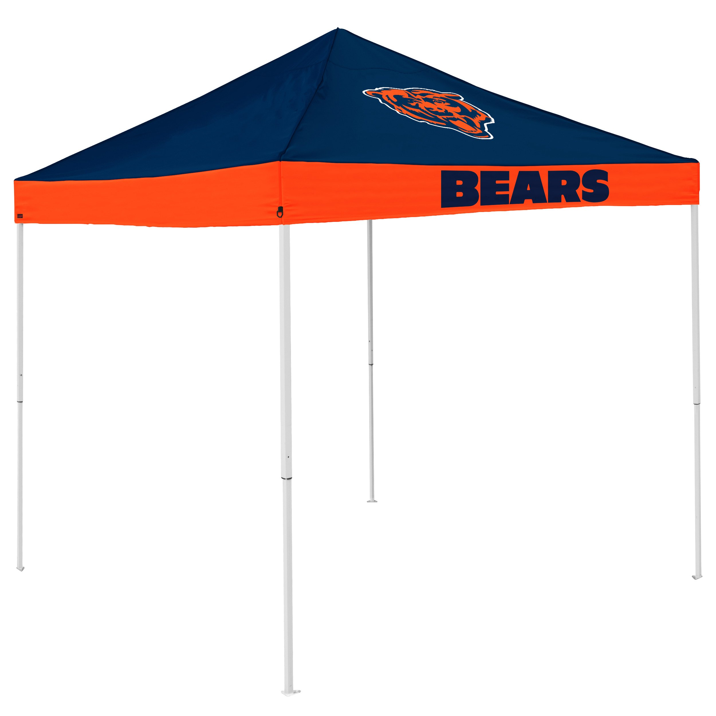 Logo Brands NFL Chicago Bears Economy Tent Economy Tent, Navy, One Size