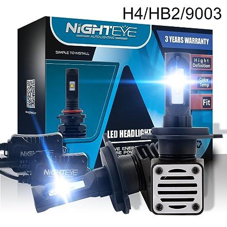 Bombillas LED H1 H4 H7 H11 H13 para faros delanteros de coche, kit de conversión