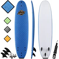 SBBC - 8' Soft Top Surfboard - || 8ft Verve || - Fun Performance Foam Surfboards | Great Surf Boards For All Surfing Skill Levels