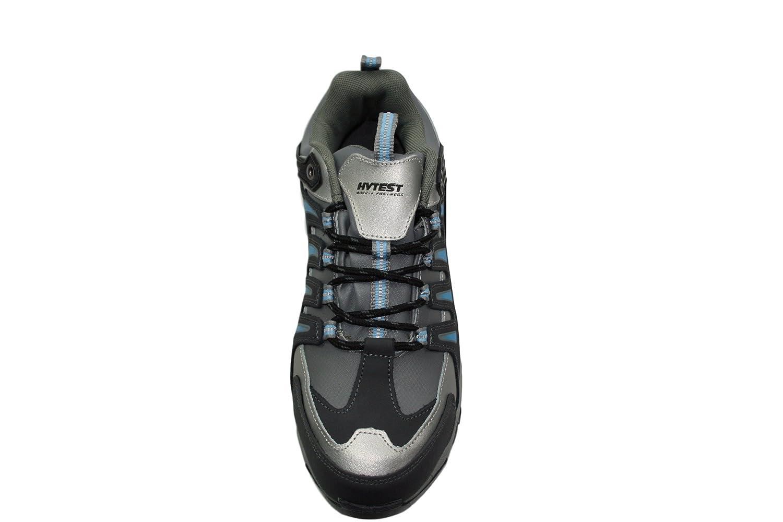 0f22884efd60f HYTEST K17116 Multi Sport Women's EH, SR, Steel-Toe Safety Shoe (Blue)