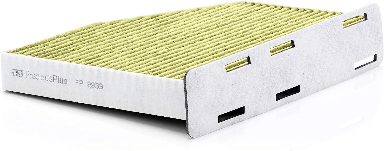 Original Mann Filter Innenraumfilter Fp 2939 Freciousplus Biofunktionaler Pollenfilter Für Pkw Auto