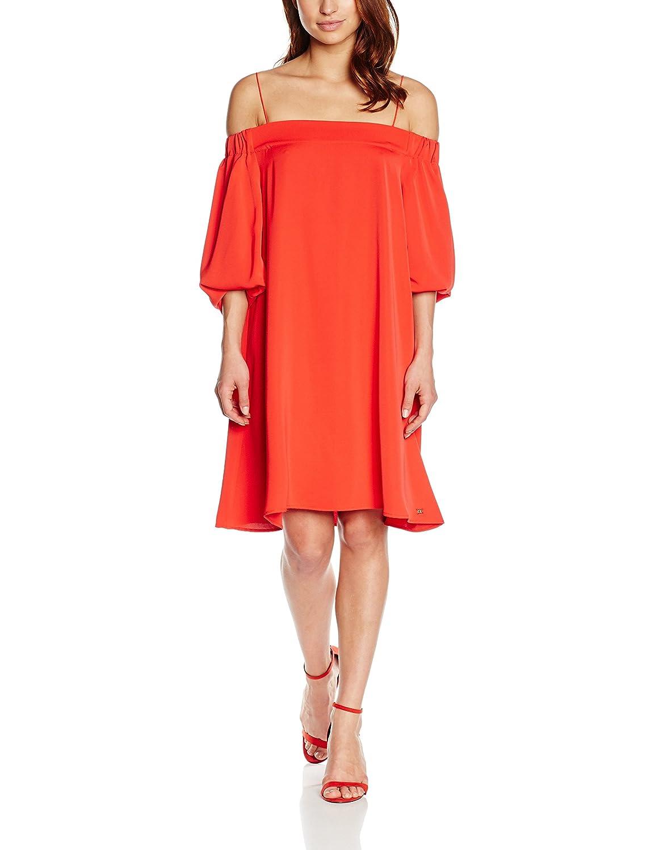 Pedro del Hierro Damen Strandkleid Vestido Tunica Rojo