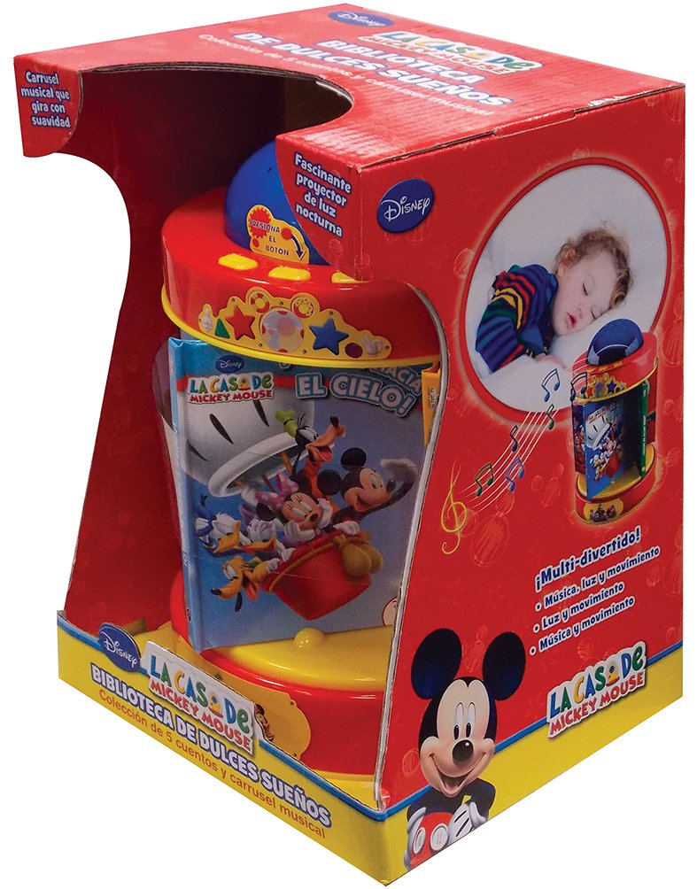 DISNEY CARRUSEL LA CASA DE MICKEY MOUSE: EDITORIAL PARRAGON ...