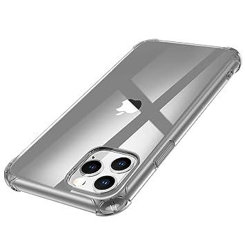 Funda Silicona Transparente para iPhone 11