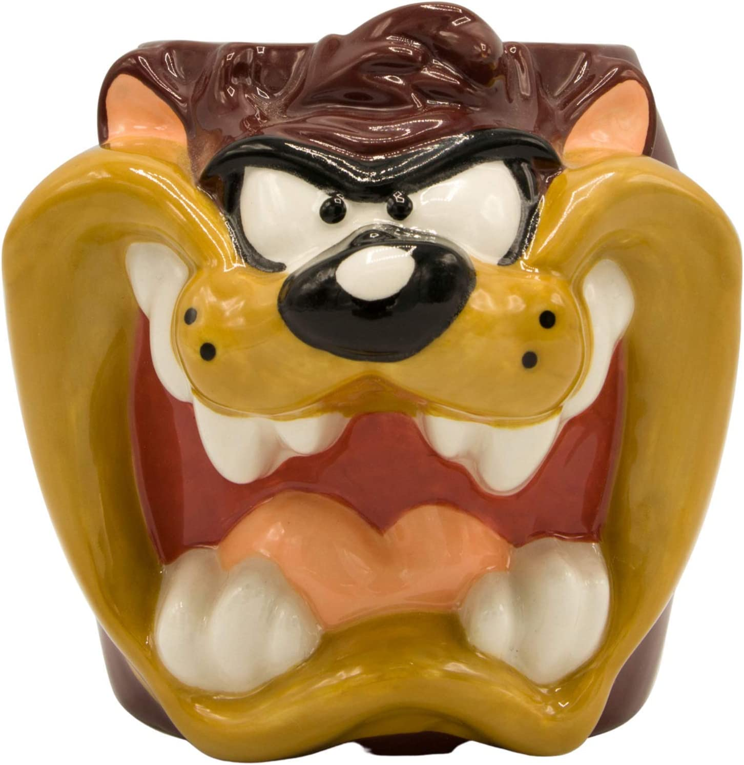 Silver Buffalo Looney Tunes Taz Face New Max 57% OFF product type Sculpted 24 Mug Ceramic 3D