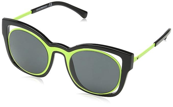Amazon.com: Armani ea4091 Gafas de sol 501787 – 50 – Marco ...