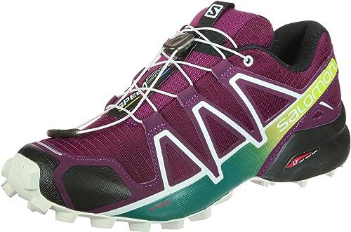 Salomon Speedcross 4 W, Zapatillas de Running para Asfalto para ...