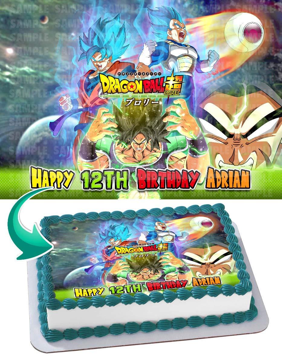 Dragon Ball Z Cake Edible Image Frosting Sheet