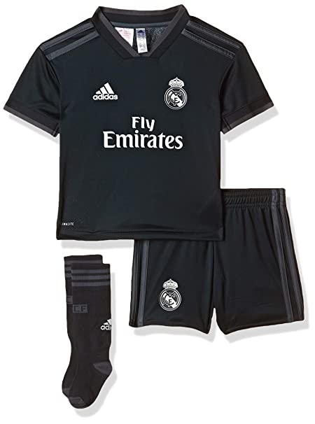 adidas 18/19 Real Madrid Away Minikit Conjunto, Unisex niños ...
