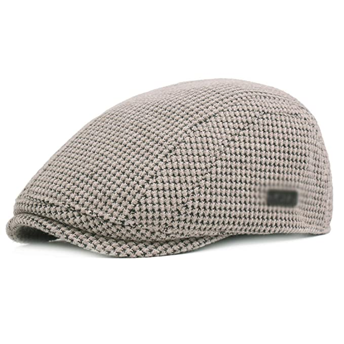 36fba5a87dc Fashion Mens Womens Ivy Cap Gatsby Newsboy Thickened Cotton Beret Hats for  Men Women Golf Driving