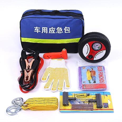Amazon Com Amissvie Auto Emergency Kit First Aid Kit Roadside