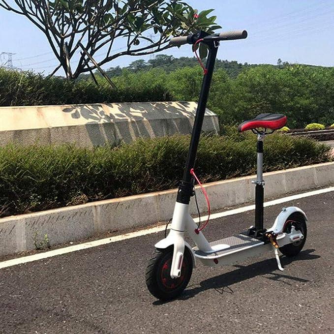 OUKANING Ajustable Silla de Asiento de Scooter Eléctrico Sillín para Xiaomi M365 Scooter Eléctrico Asiento para Plegado Silla