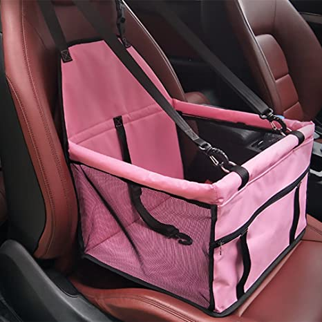 Coofig Pet Dog Car Booster Seat Bales More Breathable Portable And Cat