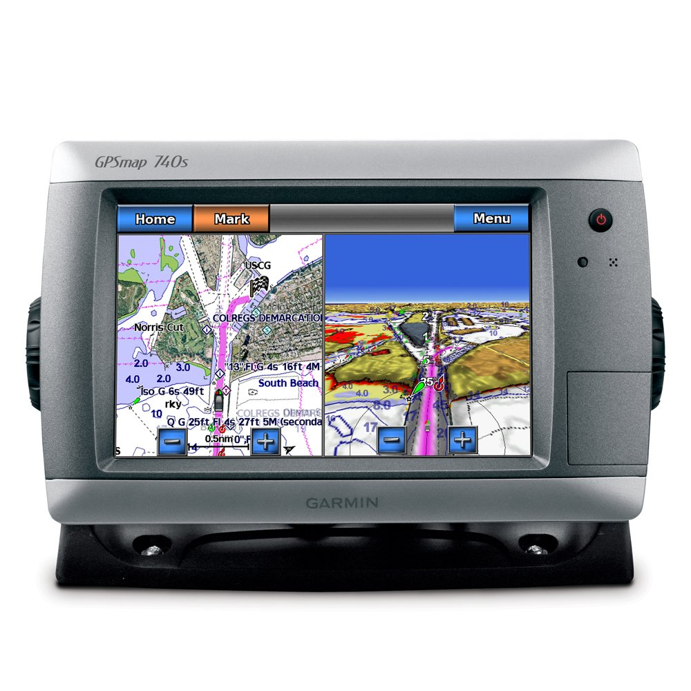 Amazon Garmin GPSMAP 740S GPS Chartplotter W Sounder Cell Phones Accessories