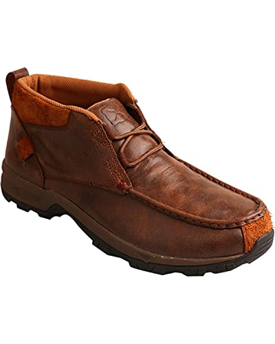 Boots Mens Lace up Waterproof Old Brown Hiker