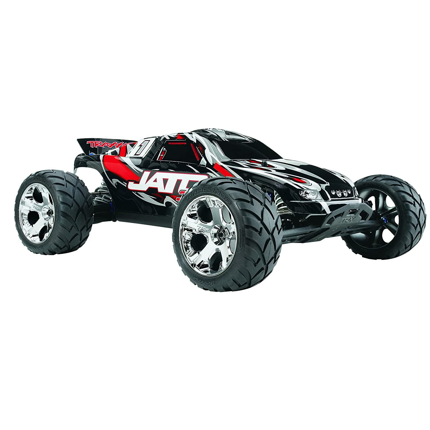 Amazon Traxxas 1 Jato 3 3 Vehicle with 2 4 GHz Radio Bluetooth colors may vary Toys & Games