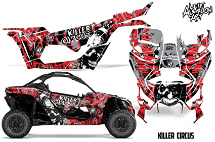 Amazon com: Savage Kits Vinyl Graphic Decal Kit for UTV Can Am