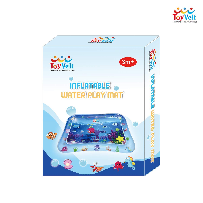 Amazon.com: ToyVelt Tummy Time Alfombra de juegos de agua ...