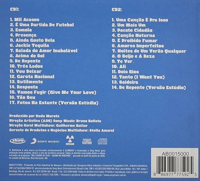 VIVO AO NO MINEIRO BAIXAR SKANK CD