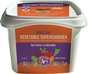 Purple Cow Organics BioActive Vegetable Supercharger, 8oz