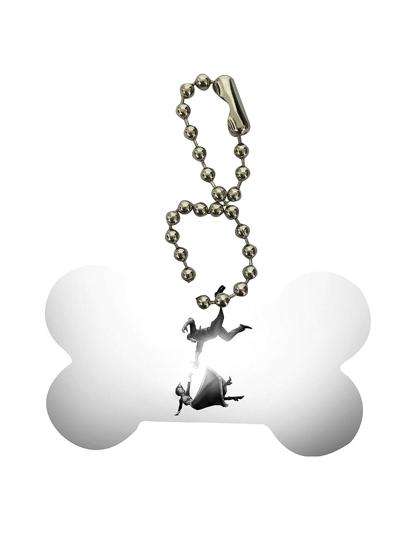 Bioshock Infinite Falling arte hueso de perro Llavero por ...