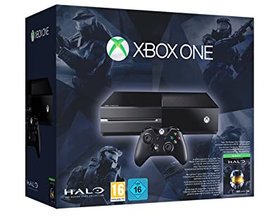 Xbox One Console With Halo The Master Chief Collection