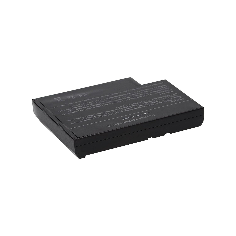 PURE⚡POWER® Batería del ordenador portátil para HP Pavilion ze4900-PF745AV (14.8V, 4400 mAh, negro, 8 celdas): Amazon.es: Electrónica
